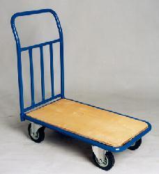 A trolley, yesterday