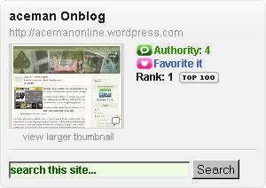 Ranked No.1 Blog