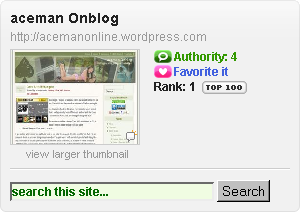 Ranked No.1 Blog