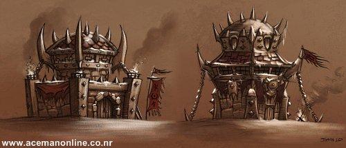 Orc Buildings artwork