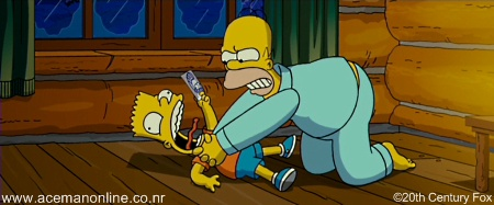 Favourite part of The Simpsons Movie