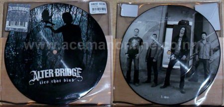Alter Bridge 7″ pictured vinyl