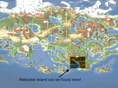 Visit Welcome Island here