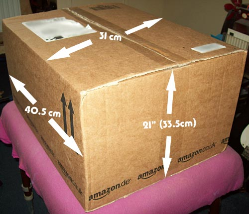 1. Check the dimensions of the box