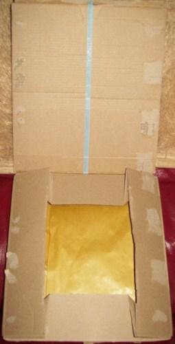 Open parcel