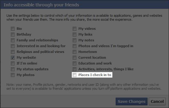 FacebookPlacesInfoAccess