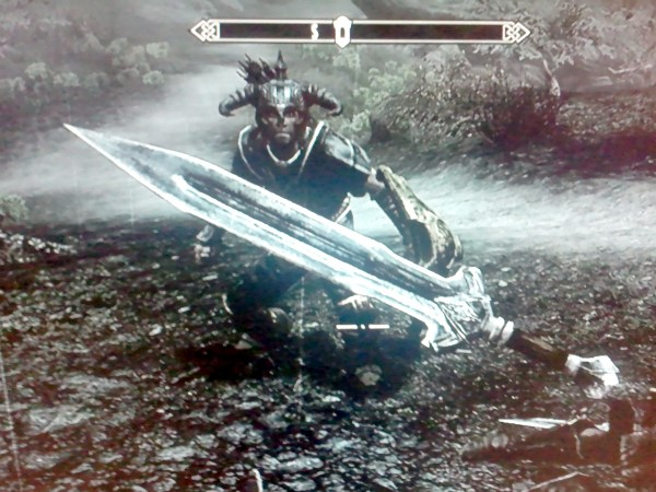 floating sword