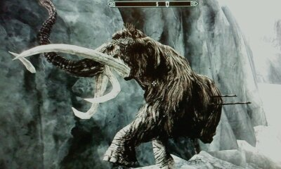 Skyrim Mammoth