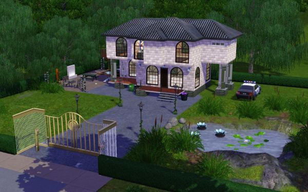 My Sims house