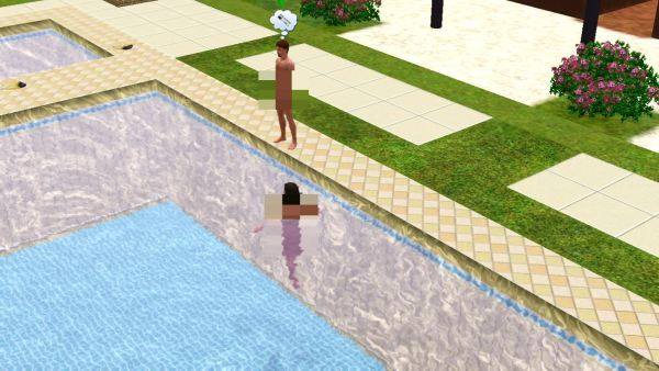 Skinny Dippping Sims