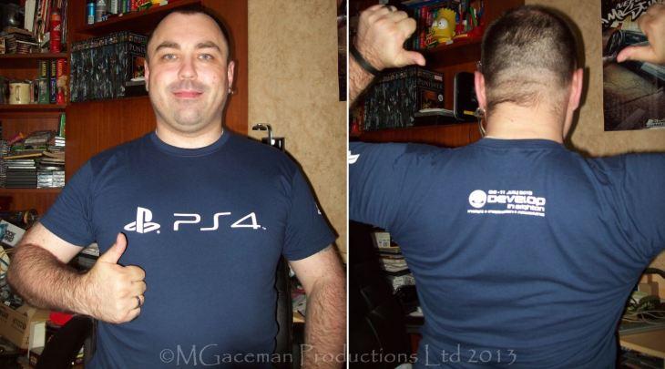 PS4 tee