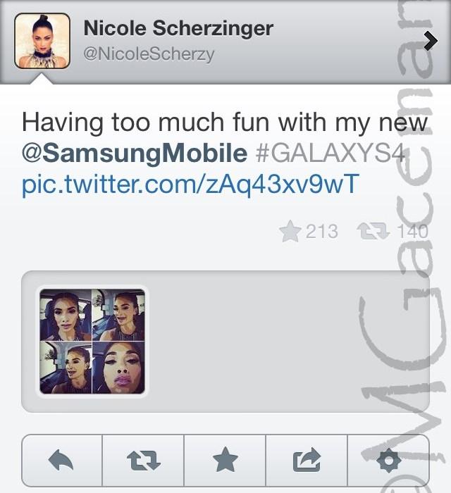 Sherzinger Twitter Fail