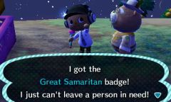 ACNL Samaritan Badge