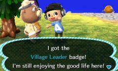 ACNL Village Leader