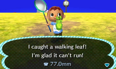 ACNL Walking Leaf